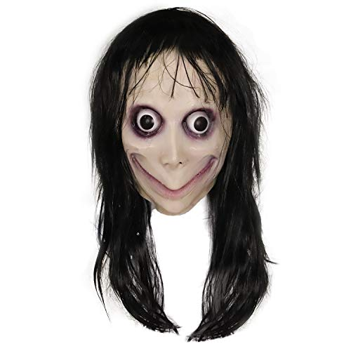 molezu Gruselige Masken, Horror Masken Halloween Resident Evil Monster Maske, Gruselige Kostüme Party Gummi Latex Maske für Halloween.