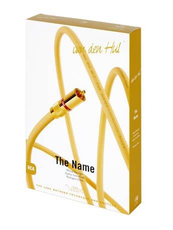 Van den Hul - The Name Hybrid, cavo stereo, lunghezza: 2 x 0,8 m