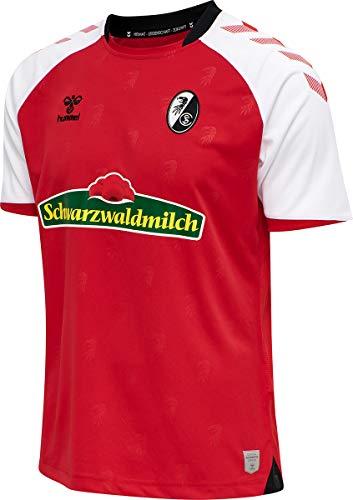 Hummel SC Freiburg Trikot Home 2020/2021 Herren rot/weiß, L
