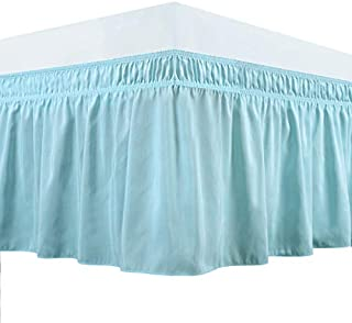 wrap around ruffle bed skirt