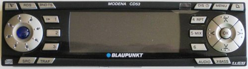 BLAUPUNKT Radio MODENA CD53 Bedienteil Ersatzteil 8619002352 Sparepart