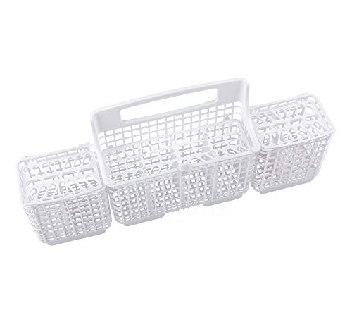 Lifetime Appliance W10807920 Silverware Basket Compatible with Whirlpool,...