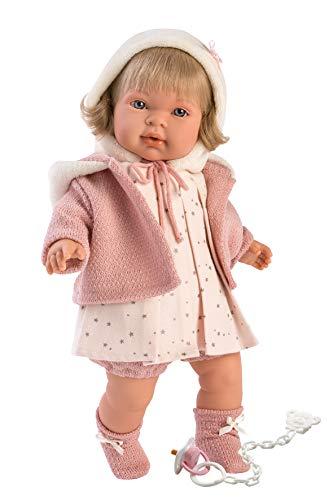 Llorens 42146 Llorens 42146 weinende Puppe Carla 42 cm, beige