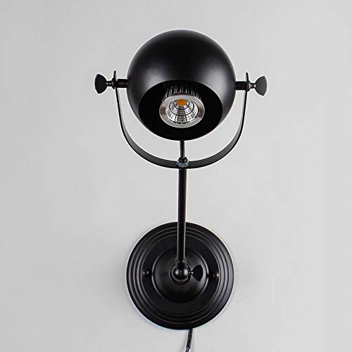 JYDQM Loft Lámpara de Techo LED Luces de Techo Tienda de Ropa Etapa Café Pub Bar Club Estudio Restaurante Dormitorio Pasillo Luz de Pared