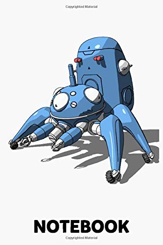 Tachikoma Ghost In The Shell Notebook: (110 Pages, Lined, 6 x 9)