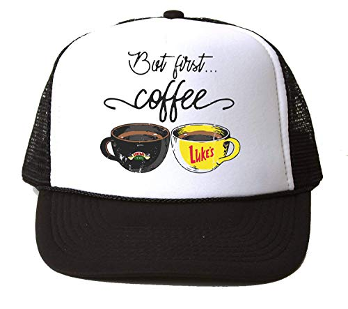 NoMoreFamous Central Perk Friends Cups of Coffee Baseball Cap Unisex Mütze Kappe Hat One Size