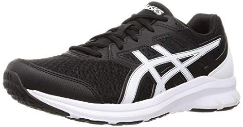 Asics Jolt 3, Road Running Shoe Hombre, Black/White, 48 EU