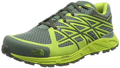 North Face Hombre M Ultra Endurance GTX Zapatillas de Running para Asfalto Verde Size: 42