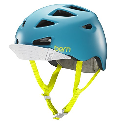Bern - Casco para Bicicleta Mujer Multideporte - Modelo: Melrose Satin. Color:...
