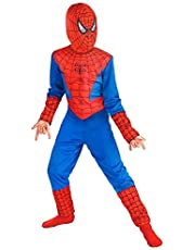FancyDressWale Superhero Dress for Kids (Medium (4-6 Yrs)