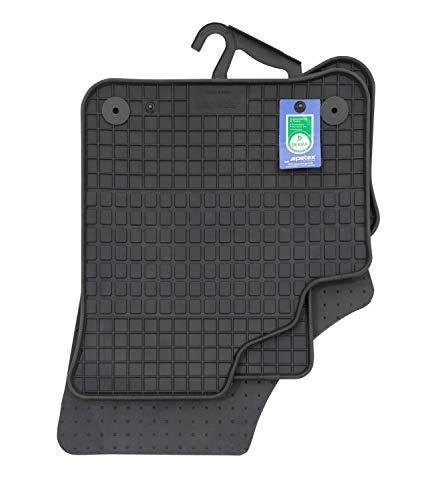 PETEX 62511 Gummimatten passend für e-Up ab 09/2019 schwarz 4-teilig