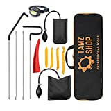 Professional Emergency Car Lockout Kit - Essential Tagout Tool Kit for Automotive Truck with Long Reach Grabber & Air Wedge Pump (12 Pcs)