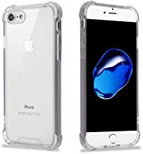 Premium Shieldz iPhone 8 Case, iPhone 7 Case, [Pro Clear Series] [Lifetime Replacement Warranty] [Shock Absorption] TPU Bumper Case for Apple iPhone 8 2017 / iPhone 7 2016 - Clear