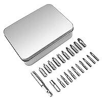 22pcs Electric Screwdriver Hex Bits Durable Hardware Set Chrome Vanadium Steel Installation Lengthening Screw Holder