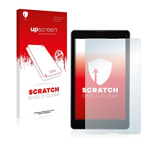upscreen Schutzfolie kompatibel mit Medion Lifetab P8513 (MD 60175) – Kristallklar, Kratzschutz, Anti-Fingerprint