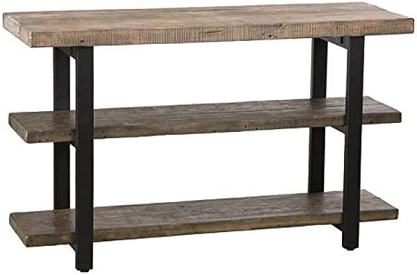 博尔顿家具波莫纳 48 木质多媒体控制台表