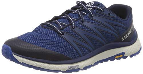 Merrell Bare Access Xtr, Zapatillas Deportivas Para Interior Hombre, Azul (Peacoat), 43 Eu