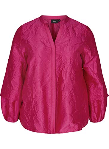 Zizzi Große Größen Damen Langarm Jacke mit V-Ausschnitt Gr 42-56