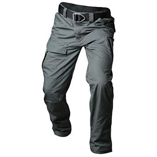 Baumwolle wasserdichte Taktische Hosen Männer Tarnung Militär Frachthosen Multi Pockets Army Combat Hosen Army Green M