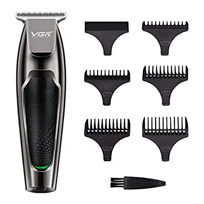 Hair Clippers Set, Professional Rechargeable Hair Clippers, Low Noise Electric Hair Cutting Machine with 5 Combs for Men Kids and Family Use by Aiooy