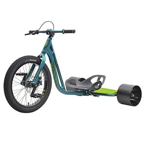 FireCloud Cycles Triad 20' Pro Disc Drift Trike – Notorious 3 en Verde y...