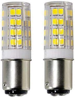 BA15D Double Bombing free shipping Bayonet Sewing Ranking TOP19 Machine LED Watt Light Bulb 5 W Cool