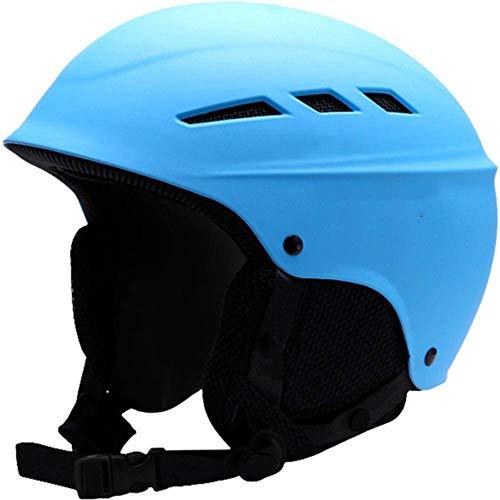 N-B Hombre/Mujer/Adolescente Casco de Esquí de Invierno Felpa Snowboard Casco Patinaje Máscara Moto Bicicleta Ciclismo Escalada Deporte Seguridad