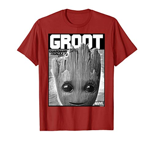 Marvel Guardians Vol. 2 Baby Groot Close-Up T-Shirt C1