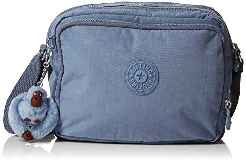 Kipling Silen - Borse a tracolla Donna, Blu (Timid Blue C), 11x24x18 cm (B x H T)