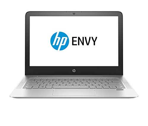 HP 13-d040wm ENVY Laptop, 13.3' QHD+ IPS Display(3200 x 1800), Intel Core i7-6500U(2.5GHz), 8GB RAM, 256GB Solid State Drive, Bluetooth, Windows10, 7.5 hours battery life - Silver