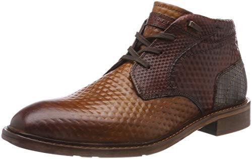 Daniel Hechter Herren 811580201111 Klassische Stiefel, Braun (Cognac/Brown 6360), 45 EU