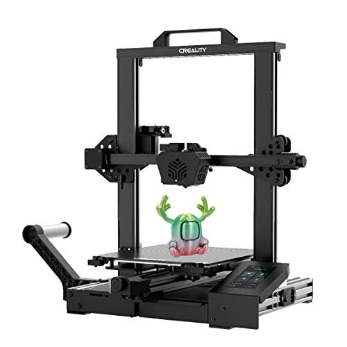 Creality CR-6 SE 3D Printer, 2020 Newest Auto level DIY Printer Kit with Silent Mainboard, Touchscreen, Meanwell Power Supply, Tempered Glass Plate and Dual Z-axis Print Size 235 x 235 x 250 mm