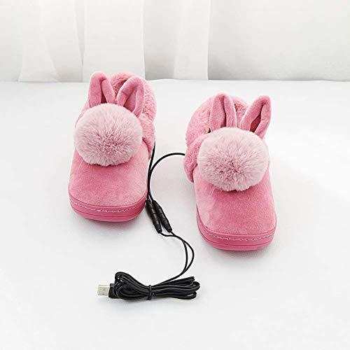 LLDKA 2019 climatizada Cocinar Zapatillas USB pies Calientes...
