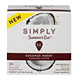 Summer's Eve Simply Cloths | Coconut Water |14...