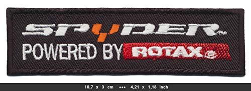 Spyder Rotax Aufnäher Patch Bügelbild Motorrad Trike USA