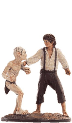 Lord of the Rings Figurine Collection Nº 60 Frodo & Gollum
