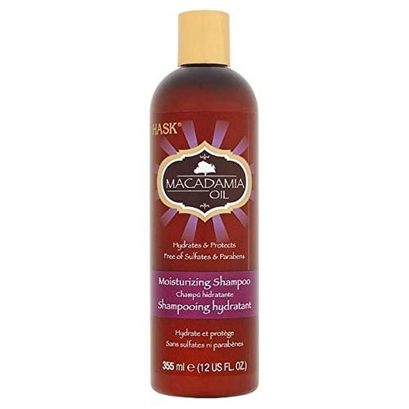 累計教養があるスキャン[Hask] Haskのマカダミアオイル保湿シャンプー355ミリリットル - HASK Macadamia Oil Moisturising Shampoo 355ml [並行輸入品]
