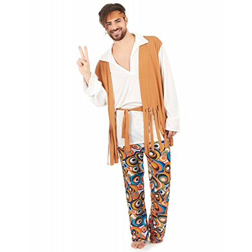 Déguisement hippie homme M / L