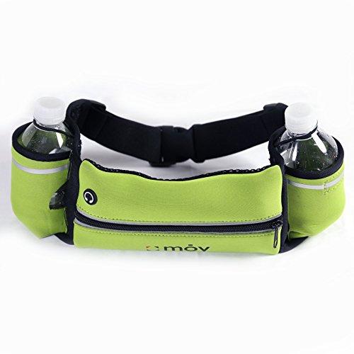 Corredores cinturón/cinturón de hidratación con bolsillos para botellas de agua