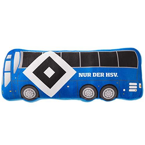 Hamburger SV HSV Nickikissen Kissen Mannschaftsbus in 50 x 20 cm, 30126
