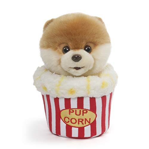 GUND Boo World's Cutest Dog Popcorn Plush Stuffed Animal, Multicolor, 9