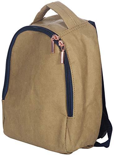 Kindsgut Eco-Rucksack für Kinder, aus Papier und natürlichen Fasern, ideal für den Kindergarten und kleine Ausflüge, Schlichtes Design und dezente Farben, hochwertige Qualität, Royalblau