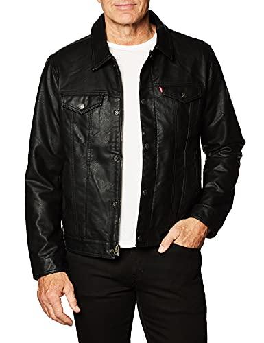 Levi's® MX Trucker Jacket, Negro, EG