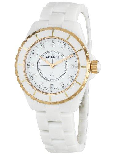 Chanel H2180 J 12 Orologio da uomo con quadrante bianco