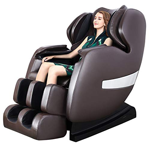 Ootori Massage Chair S-Track 3D Full Body Air Massage Chair,Zero Gravity Shiatsu Massage Chair Recliner with Stretching,Vibration&Space Saving,Build-in Heating&Foot Roller,Bluetooth