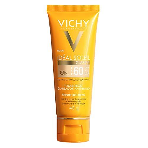 Vichy Protetor Solar Idéal Soleil Clarify FPS 60 Extra Clara 40g