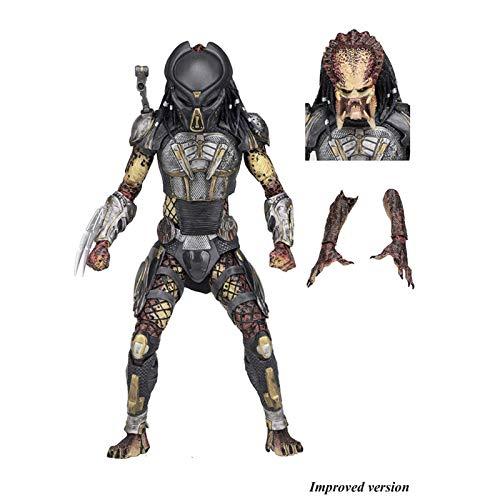 "jiaming Predator (2018) - 7 ""Escala Figura □ Ultimate Fugitive Predator (versión No Original)"