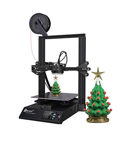 BIQU B1 Stampante 3D,stampante FDM interamente in metallo 235X235X270mm Schermo tattile a colori da 3,5 ''Rilevamento filamento a doppio sistema Riprendi stampa VS Ender 3 V2 per principianti