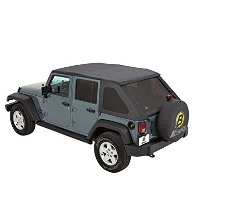 Our #1 Pick is the Bestop Black Diamond Trektop Jeep Soft Top