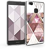 kwmobile Case Compatible with Huawei P9 Lite - TPU Crystal